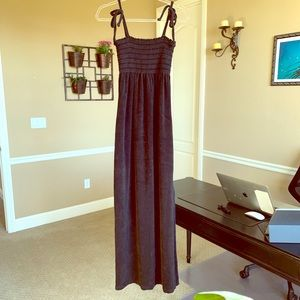 Juicy Couture terry high slit maxi dress small